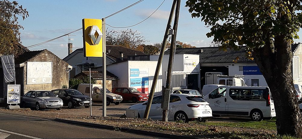 Garage Palomo agent Renault à Clairac 47320